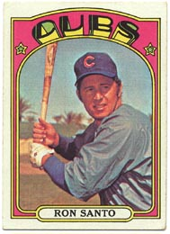 1972 Topps Baseball Cards      555     Ron Santo